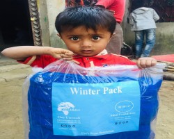 Don't Think Different, Let's Do something Different in this Winter and help the community to defeat the cold.