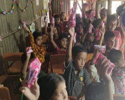 """We say, """"Yes"""" to hygiene! - Soap Distribution"""